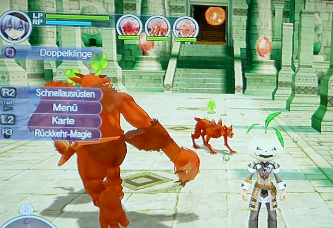 Diese drei Monster können den Endboss etwas von euch ablenken.