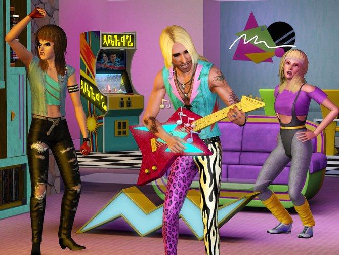 Die Sims gehen in die 70er, 80er und 90er zurück.