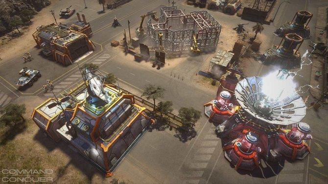 Die Gebäude in Command & Conquer wirken futuristisch.