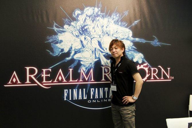 Naoki Yoshida gibt uns neue Eindrücke in Final Fantasy 14 - A Realm Reborn.