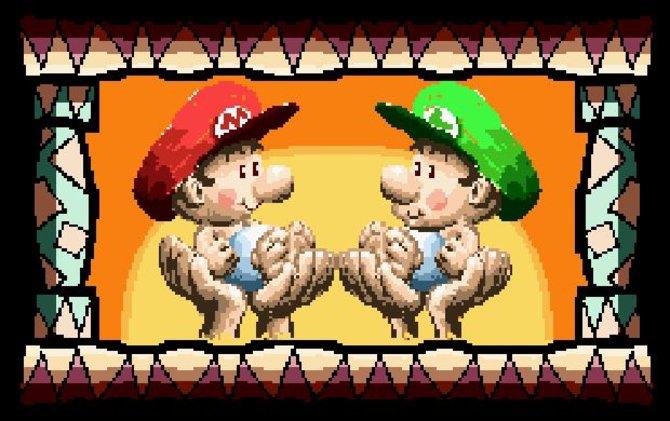 Allem Anschein nach sind Mario und Luigi wirklich Zwillinge. Das verrät euch spätestens Super Mario World 2: Yoshi's Island. Gleichwohl ist Luigi einen Tick jünger.