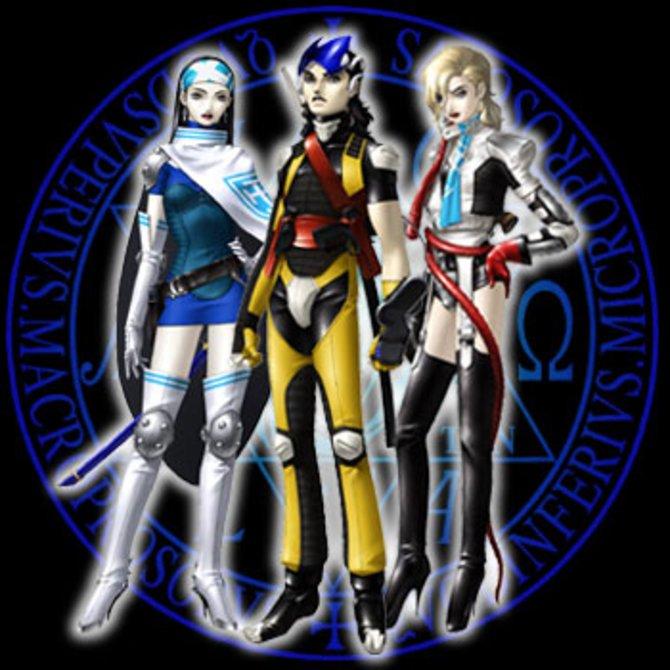 Die Shin Megami Tensei-Serie punktet seit jeher mit stilvollen Designs.