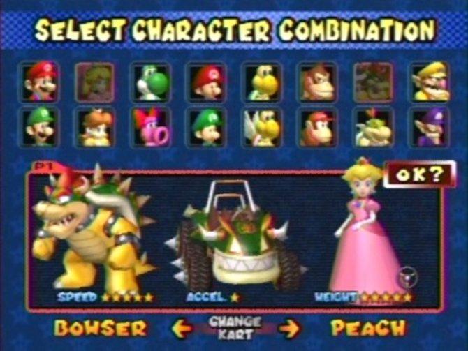 Auf dem GameCube traten in Mario Kart Double Dash erstmals ...