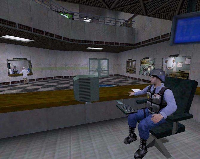Noch ist in der Black Mesa Forschungsstation alles in Ordnung.