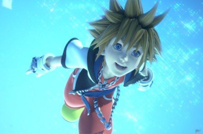 Der erste Protagonist Sora ist natürlich auch wieder am Start.