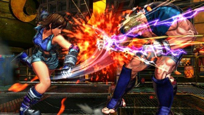 BÄM! Der Treffer sitzt. Bei Street Fighter X Tekken haben Yoshinori Ono...