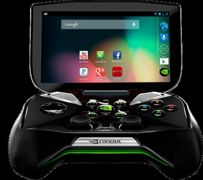 """Der """"Nvidia Shield"""" läuft auf Android."""