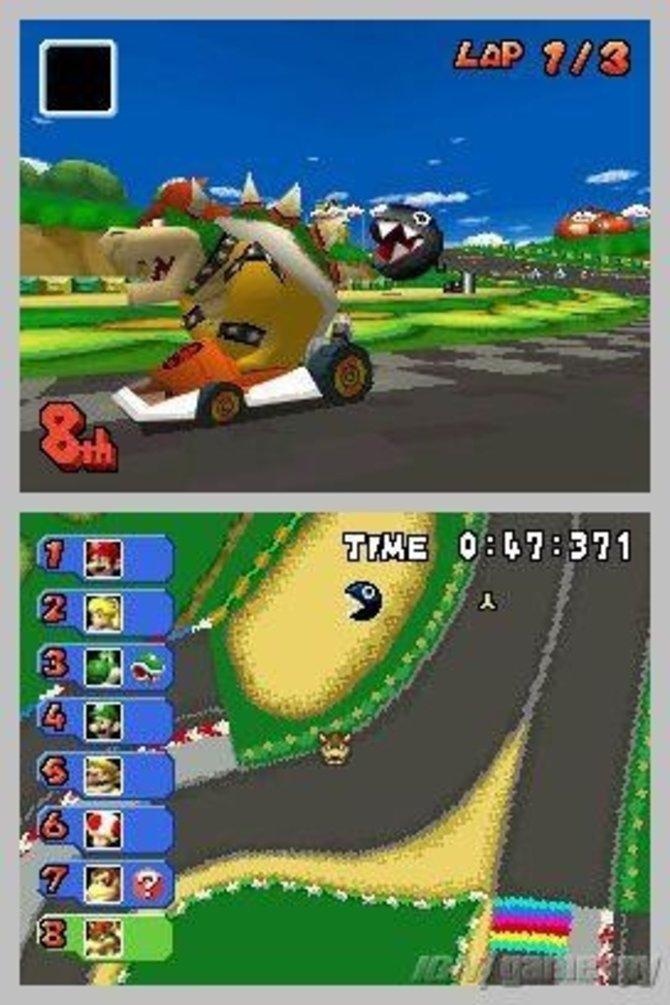 Der ideale Spaß für unterwegs: Mario Kart DS. Die ...