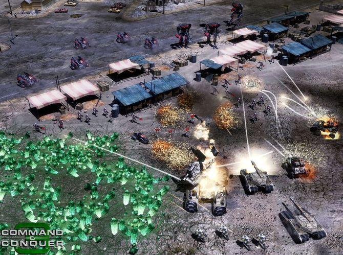 Российская премьера стратегического суперхита Command & Conquer 3 Tiber