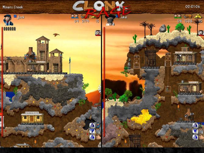 Clonk rage скачать. Все полные и условно-бесплатные игры all freeware and.