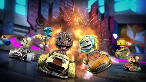 Little Big Planet Karting ist exklusiv für PS3.