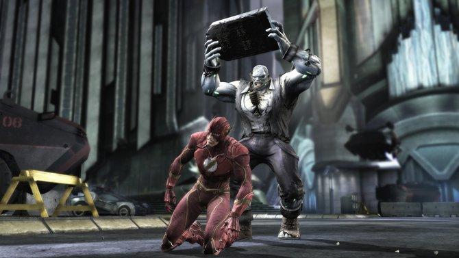 Fäuste und Tritte sind von gestern! Die Helden der DC-Comics nehmen ihre ganze Umgebung auseinander, um ihre Feinde zu vernichten.