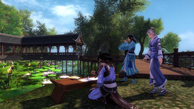 Age of Wulin schickt euch in das Fantasy-Mittelalter Asiens.