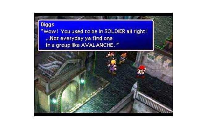 Final Fantasy VII zählt nicht nur wegen dem abwechslungsreichen Gameplay ...