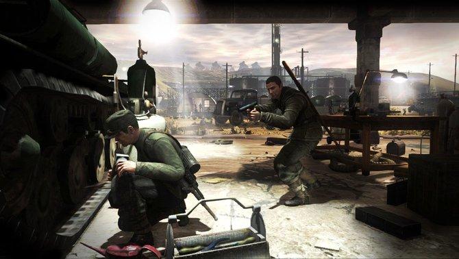 In Sniper Elite V2 werdet ihr von eurer Truppe unterstützt.
