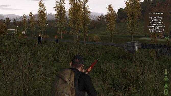 """Auch in der """"Day Z""""-Modifikation für Arma 2 sind Zombies eine ständige Bedrohung."""