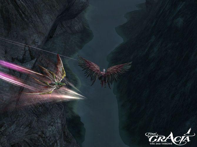 Кадр из игры Lineage II: The 2nd Throne: Gracia - Final.