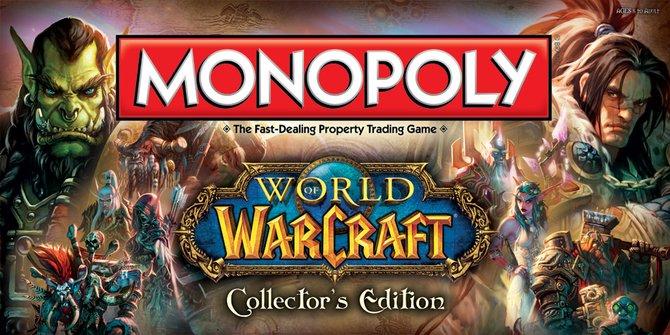 Blizzard kündigt ein offizielles Monopoly-Spiel für World of Warcraft an.