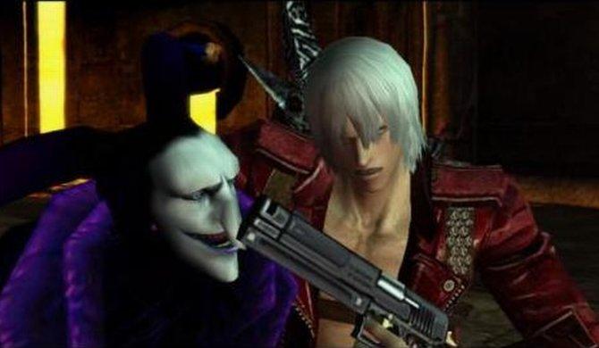 Jester reizt Dante bis aufs Blut.