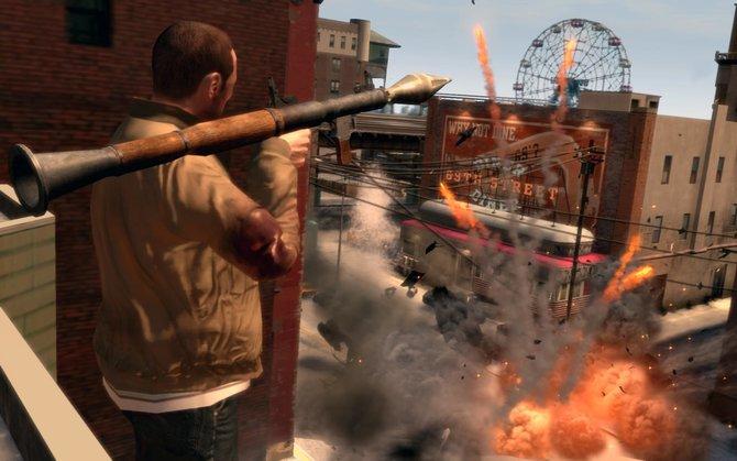 Die Vorfreude auf GTA 4 war sowohl in ...