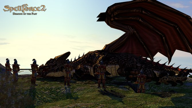 In Spellforce 2 - Demons of the Past spielen Drachen eine große Rolle.