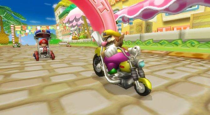 Das Mario Kart der neuesten Generation bietet nicht ...