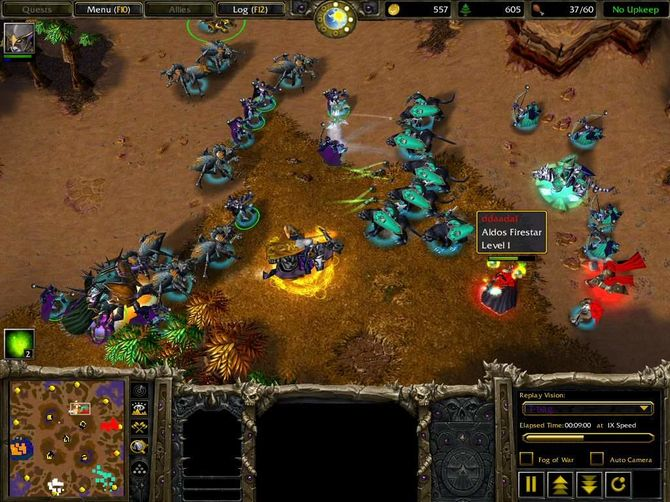 WarCraft 3 The Frozen Throne Трейнер +10 1.26.0.6401 KROCKI - WarCraft III