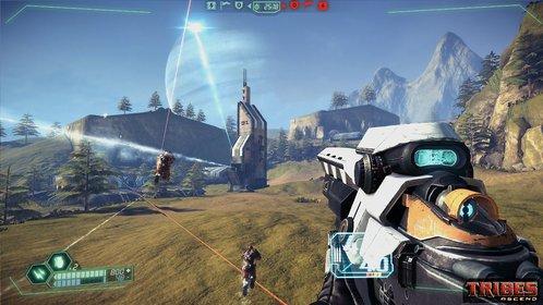 Sogenannte Doombringer bombardieren aus der eigenen Basis den gegnerischen Flaggenstand.