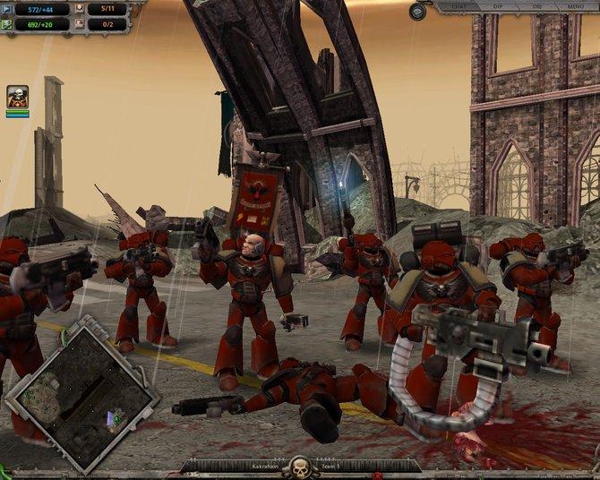 Mit Dawn of War bringt THQ erstmals ein richtig gutes 40k-Spiel auf den Markt. Zahlreiche Erweiterungen ...