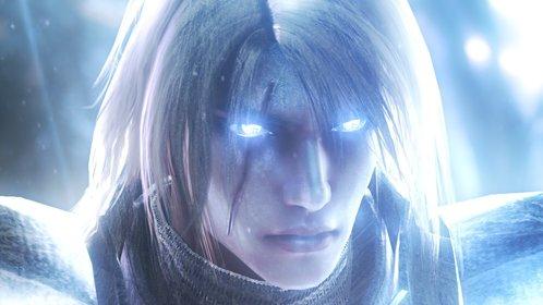 Siegfried nutzt die Macht des heiligen Schwertes Soul Calibur ...