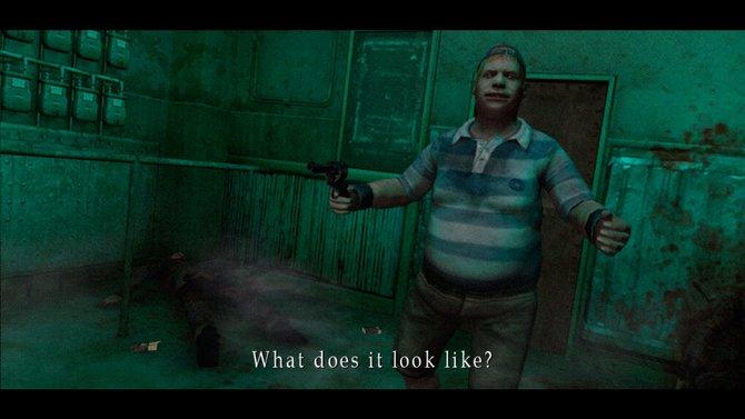 In Silent Hill begegnet Hauptdarsteller James befremdlichen Personen wie dem impulsiven Eddie ...