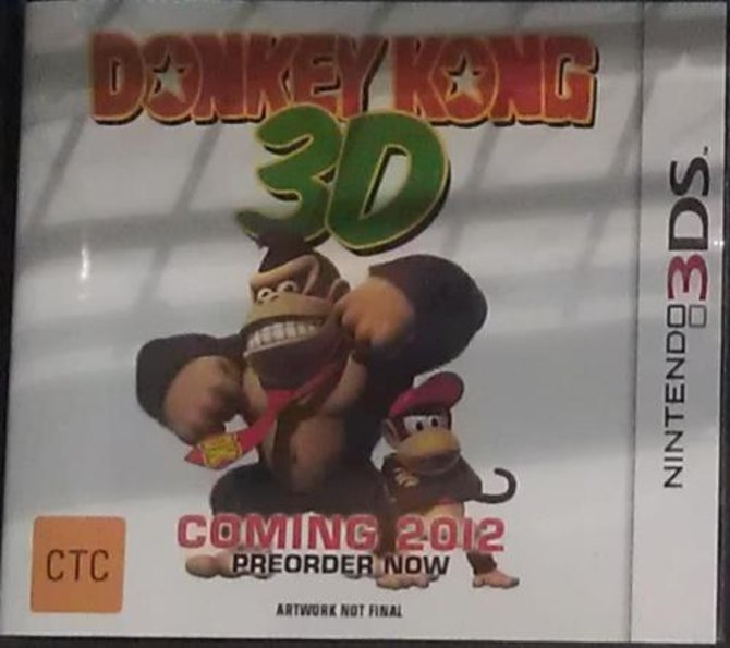 Erscheint Donkey Kong 3D 2012 für den Nintendo 3DS?