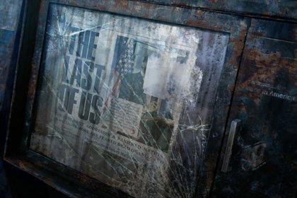 Kündet ein Zeitungs-Ständer in The Last of Us von einer Verschwörung? Etwa von Pilzsporen infizierten Menschen?
