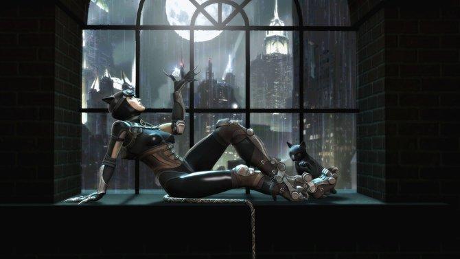 In Injustice - Götter unter uns dürft ihr prügeln, was das Zeug hält und mit der attraktiven Catwoman Muskelpakete verdreschen.