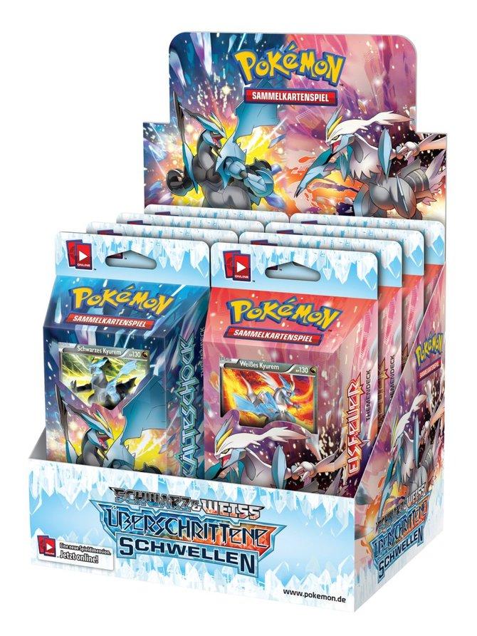 Die neue Erweiterung zum Pokémon-Sammelkartenspiel heißt Schwarz & Weiss - Überschrittene Wellen.