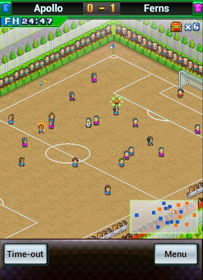 Bei Pocket League Story 2 baut ihr euer eigenes Fußballteam auf und lasst es zu zahlreichen Spielen antreten.