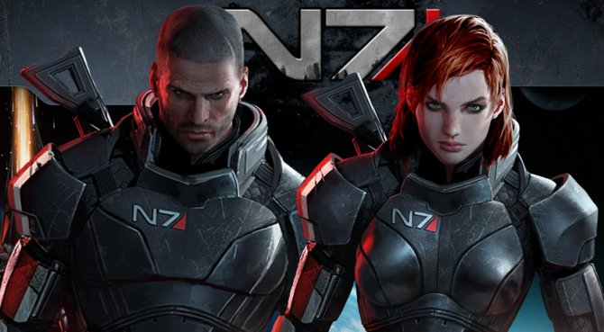 Shepard kann als Mann oder Frau die Galaxie retten.