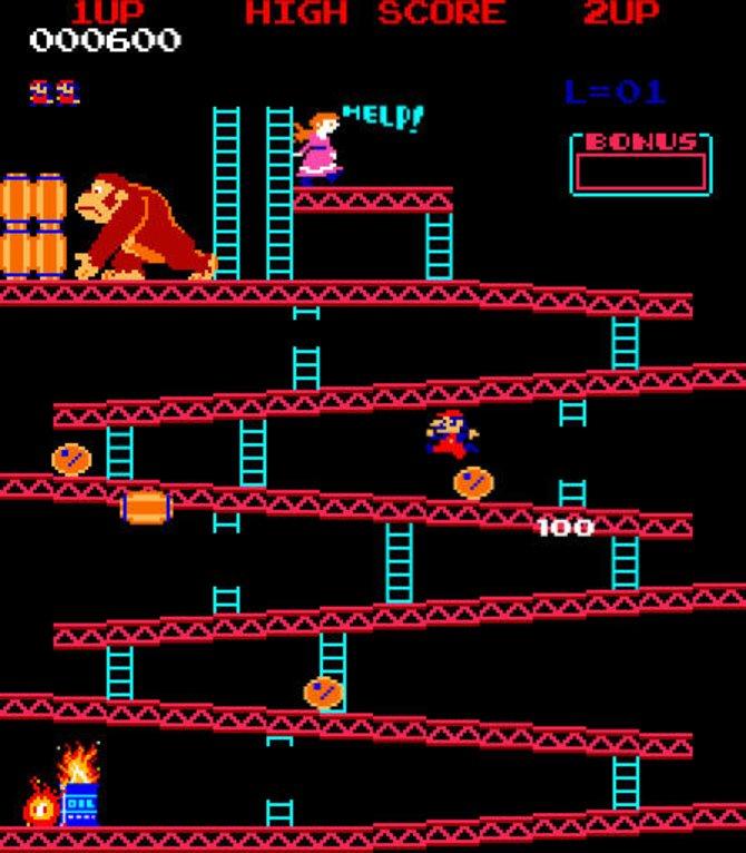 Seinen ersten Auftritt hatte Mario noch unter dem ...