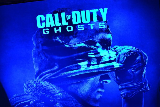 Den Verkaufsstart von Call of Duty - Ghosts feiert Activision in Berlin.