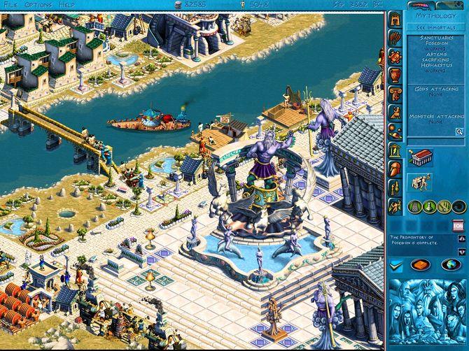 Zeus: Master of Olympus + Zeus: Poseidon Expansion 2000, RUS/нет, L. Zeus:
