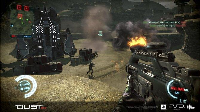 Dust 514 ist ein kostenloser, futuristischer Ego-Shooter vom Entwickler CCP.