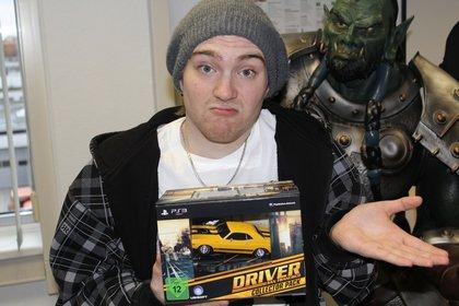 David hat diese tolle Sammler-Edition zu Weihnachten bekommen. Dumm nur, dass er gar keine PS3 besitzt. Also was tun?
