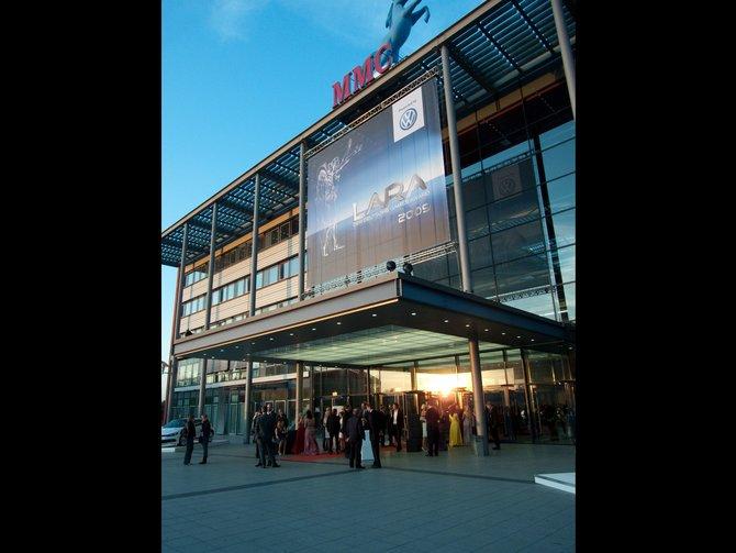 Im Kölner Coloneum werden sonst große Produktionen ...