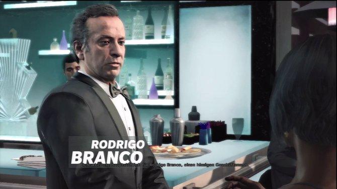 Rodrigo Branco ist das Oberhaupt der Familie. Er ist ein hiesiger Geschäftsmann und Max' Auftraggeber.