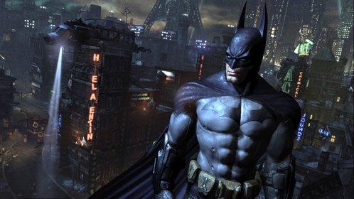 Batman kein seine Freude über die Nominierung kaum verbergen.