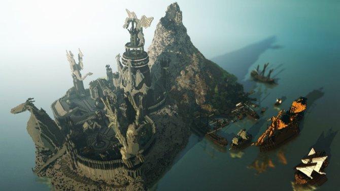"""Die Welt der Serie """"Game of Thrones"""" wurde komplett in Minecraft nachgebaut."""