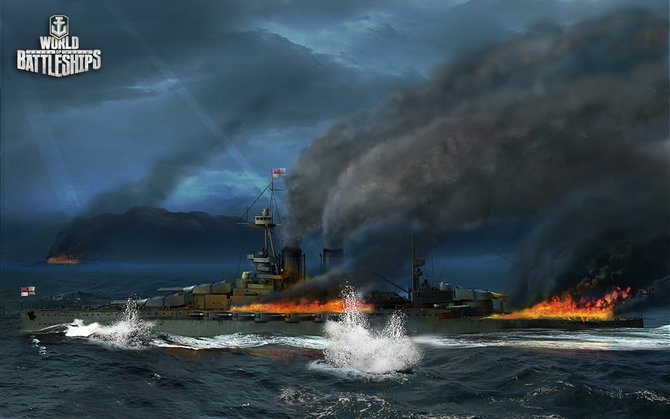 World of Battleships ist Teil der Wargaming-Trilogie.