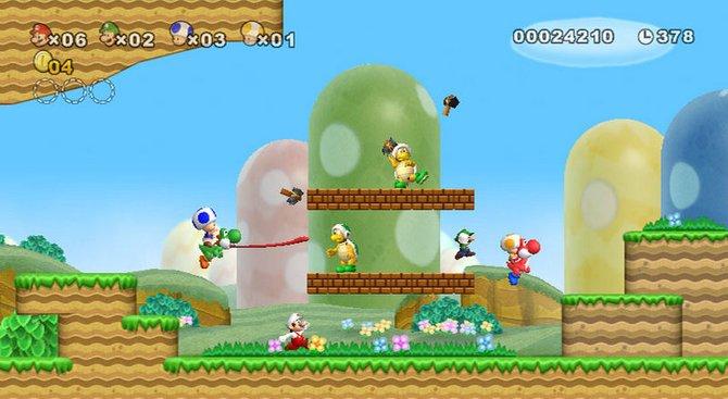 Der Mehrspielermodus von New Super Mario Bros Wii kann ...