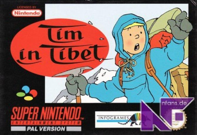 """Im Gegensatz zum SNES-Vorgänger Tim in Tibet (Bild 1) basiert """"Das Geheimnis der Einhorn"""" auf mehreren ..."""