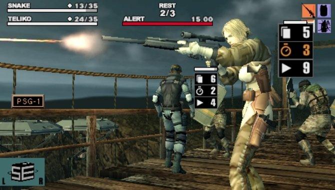 Auf der PSP gibt es bereits fünf Abenteuer der Metal-Gear-Reihe: ...